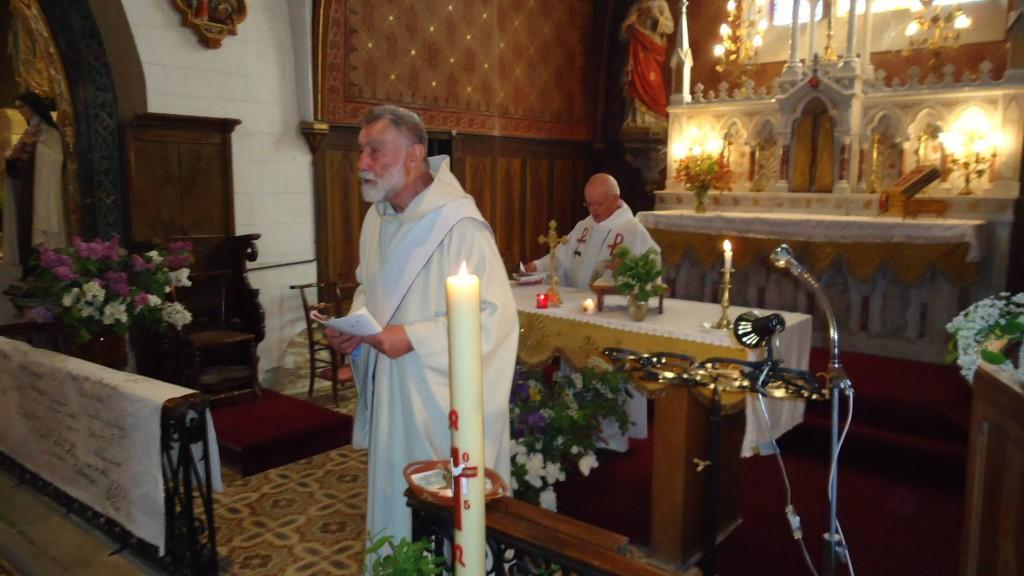Michel Wallart diacre permanent du diocèse d'Arras, Prédicateur de la Neuvaine